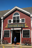 Capt Kidd Restaurant, Cape Cod. Capt Kidd is a mainstay in Woods Hole Cape Cod Royalty Free Stock Photo