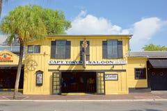 Capt. Tonys Saloon Royalty Free Stock Photography