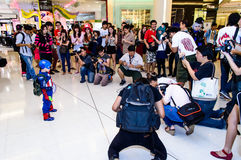 Captain America cosplay. Stock Photography