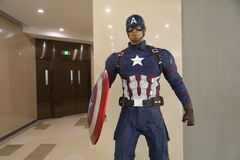 Captain America Stock Photo