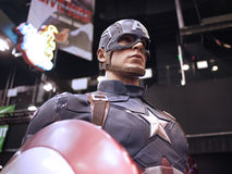 Captain America in Toy Soul 2015 Stock Photo