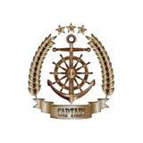 Captain_badge 向量例证