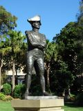 Captain Bligh Statue Stock Image