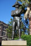 Captain Bligh Statue Royalty Free Stock Image