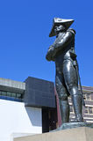 Captain Bligh Statue at the rocks in Sydney Australia Stock Photo