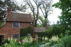 Captain Cook's cottage royalty free stock photos