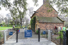 Captain cook's cottage in melbourne,australia Stock Photography