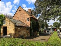 Captain cook's cottage in melbourne,australia Stock Photos