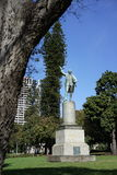 Captain cook statue at Hyde Park Royalty Free Stock Image