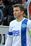 Captain of FC Dnepr Royalty Free Stock Photography