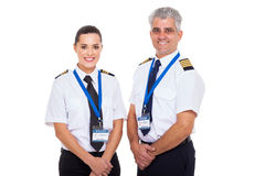 Captain first officer Stock Photography