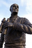 Captain Frederic John Walker Statue at the Pier Head in Liverpoo Stock Photo