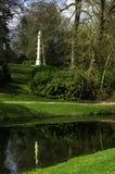 Captain Grenville's Column on Elysian Fields in Stowe, Buckinghamshire, UK. Captain Grenville's Column on Elysian Fields in Stowe, Buckinghamshire stock images