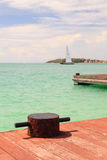 Captain Hodge Wharf Royalty Free Stock Photo