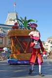 Captain Hook. Disneyland Tinkerbell parade float and Captain Hook Royalty Free Stock Image