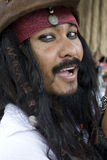 Captain Jack Sparrow, Pirates of the Caribbean Royalty Free Stock Image