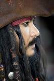 Captain Jack Sparrow, pirati dei Caraibi Fotografie Stock Libere da Diritti