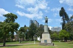Captain James Cook monument Hyde Park Sydney New South Wales Aus Stock Photography