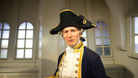 Captain James Cook Royalty Free Stock Photos