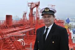Captain of the ocean ship Royalty Free Stock Photo