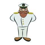 Captain. Stock Image