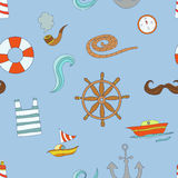 Captain pattern Stock Photography