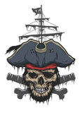 Captain and pirate attributes. Stock Photo