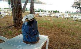 sailor`s bag royalty free stock photography