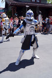Captain Rex at Star Wars Weekends at Disney World Royalty Free Stock Images