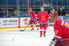 Captain of the Russian National Team Vyacheslav Fetisov (2) Stock Images