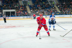Captain of the Russian National Team Vyacheslav Fetisov (2) Royalty Free Stock Photo