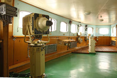 Free Captain S Bridge Of The First Soviet Nuclear-powered Icebreaker Stock Photos - 77713453