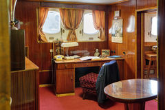 Captain's cabin Stock Photo