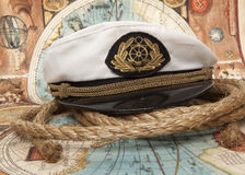 Captain's cap Royalty Free Stock Photos