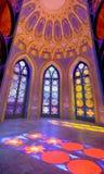 The captain`s castle, inside, in Villa Durazzo- Pallavicini in Genoa Pegli, Italy royalty free stock photos