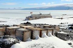 Captain Scotts Hut, Antarctica Royalty Free Stock Photography