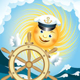 Captain sun Royalty Free Stock Photography