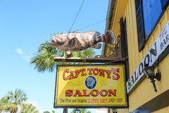 Captain Tonys Saloon royalty free stock photography