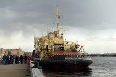 Captain Zarubin The Icebreaker Stock Image