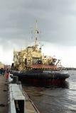 Captain Zarubin The Icebreaker Stock Photo