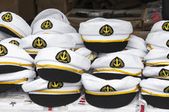 Captains hats Stock Image