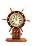 Captains Wheel Clock stock photos