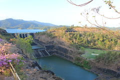 Captation de barrage Photos stock