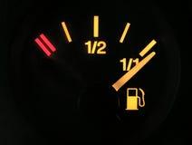 Capteur d'essence complètement Photos libres de droits
