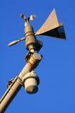 Capteurs météorologiques. Image libre de droits