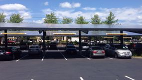 Capteurs solaires Photos stock