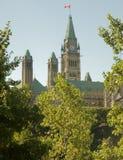 Captial canadense que constrói 1 Fotografia de Stock Royalty Free