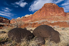 Captiol Reef National Park, Utah Royalty Free Stock Photography