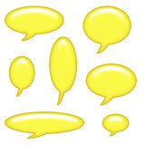 Caption Bubbles Clip Art Royalty Free Stock Images