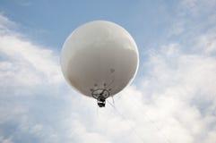 Captive ballon. Aerial photography using a captive balloon Royalty Free Stock Photos